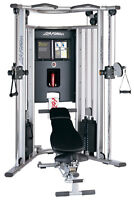 G7 Life Fitness Dual Cable Cross Machine