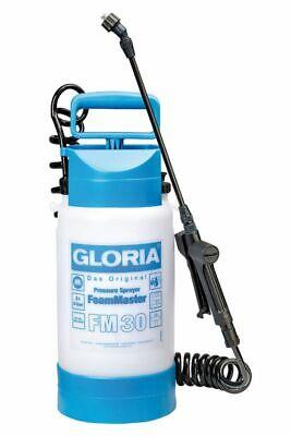 GLORIA FoamMaster FM 30 Schaumsprüher Schaum-/ Drucksprühgerät, 3L, Ausbringen von Reinigungsschaum, inkl. 2,0m Spiralschlauch