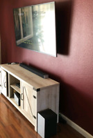 TV wall mount, Rogers, Bell, Shaw, LAN wiring