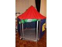 BabyDan play pen with tent