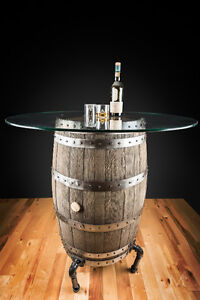 table bar tonneau - customized barrel bar table