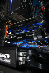 Graphics Card: MSI GTX 660ti - Multi Monitor (Up to 3)