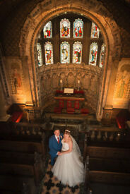 Experienced photographer offers top quality wedding photography at surprisingly affordable prices