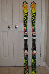 Volkl RaceTiger SpeedWall FIS SL145 cm Skis and Bindings