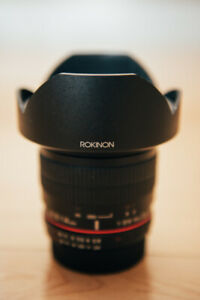 Rokinon 14mm f2.8 for Nikon with Wonderpana Filter System