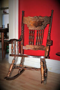 Rocking Chair - Solid Wood London Ontario image 1