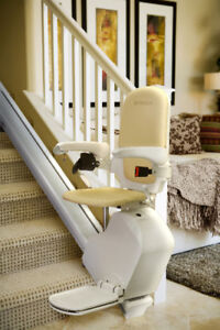 "Symax ""Delite S"" Stairlift. Custom Length and Options."