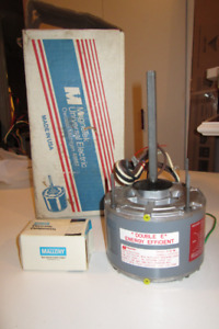 USED AIR CONDITIONER  A\C FAN MOTOR and CAPACITOR,