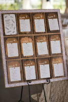 RUSTIC SHABBY CHIC SEATING CHART