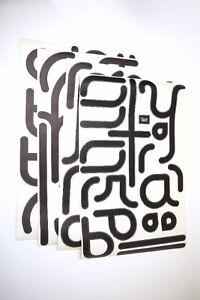 "BLIK for Veer Re-Stick ""Typography"" Wall Surface Graphic - New! Edmonton Edmonton Area image 1"