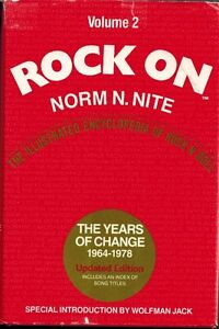 Rock On volume 2 by Norm N Nite - rock and roll encyclopedia Kitchener / Waterloo Kitchener Area image 1