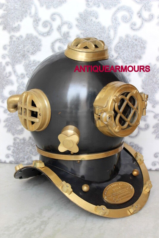 "18"" US NAVY COLLECTORS SCUBA DIVING DIVERS HELMET REPRODUCTION ANTIQUE REPLICA"