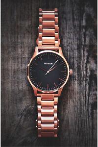 Rose Gold MVMT 40 series watch