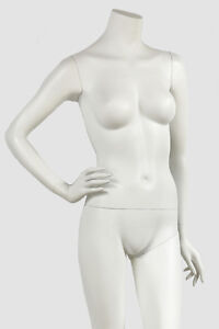 Female Mannequin by Mondo Headless EVE - 1HL Cameo White Finish West Island Greater Montréal image 4