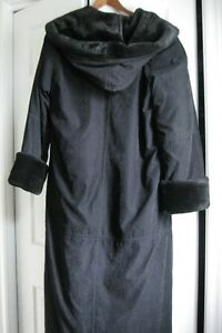 Ladies Apropos pile lined winter coat