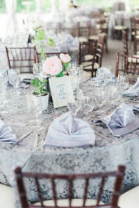Wedding Decor - Linens, Napkins, Vases, Letter Box, etc.