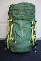 Arc'Teryx Altra 50 backpack, excellent condition.  Green
