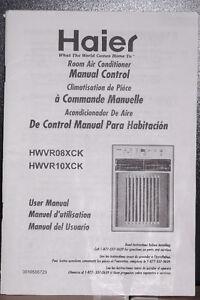 HAIER ROOM AIR CONDITIONER 8,000 BTU