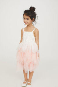 H&M Girl Holiday/Special Occasion Tulle Dress Size 3/4T