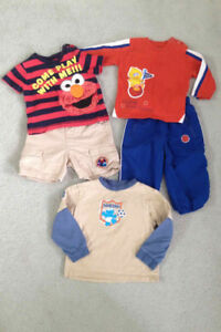 Sesame Street Kids Clothes – toddler size
