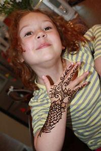 Kids Henna tattoos 100% safe and Natural