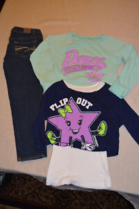 Justice Jeans & 2 tops for $15