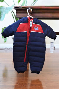 Montreal Canadiens Snow Suit (3-6 months)