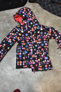 Girls size 12 Roxy winter jacket. Excellent condition
