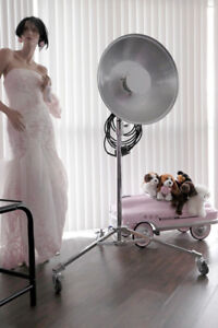 """Kupo 320M Chrome Steel Baby Rolling Stands """"Mint Condition"""""""