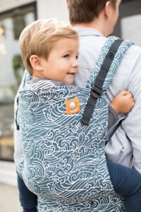 TULA toddler carrier (for 25-60lbs) $100.  Practically new