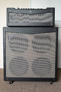 POWERFUL Fender Mustang Amp Head and Speaker Cabinet