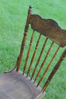 Amazing Wooden Chair Photo Prop!