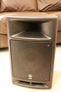 Yamaha MSR100 Powered Speaker with Built-in Mixer