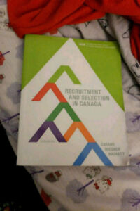Recruitment and Selection textbook - latest version (sixth)