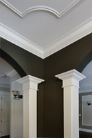 Crown moulding and interior trim work