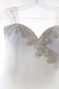 Beautiful Beaded Wedding Gown