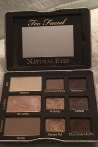 TOO FACED authentic from sephora NATURAL EYES PALETTE