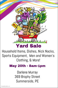 Yard Sale - Darlene Murray