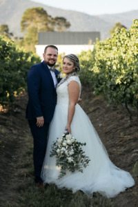 A-line tulle Mori Lee Wedding Dress for SALE