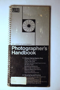 "PHOTOGRAPHER'S HANDBOOK TIME LIFE BOOKS ""CAMERA"""