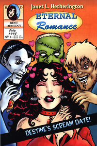Canadian comic: Eternal Romance by Janet L. Hetherington