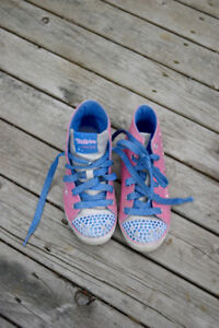 Size 13 - Twinkle toes shoes by Sketchers for girls