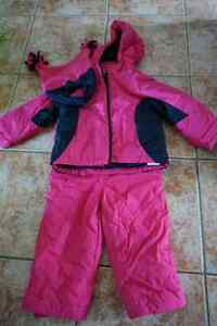 Girls Snowsuit (size 2T)