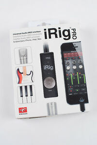iRig Pro Audio Midi Universal Interface for Apple PC Android