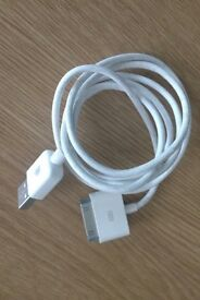 Genuine Apple USB Charger Data Cable For iPhone 4 4S iPad 1 2 3 & iPod