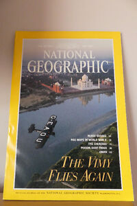 NATIONAL GEOGRAPHIC  ISSUES 1992 TO 1996