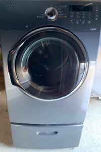 Samsung Steam Dryer with Drawer Stand Excellent Condition