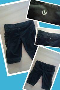 lululemon skort, capris, bathing suit top