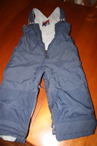 Snow pants size 3/4 year old