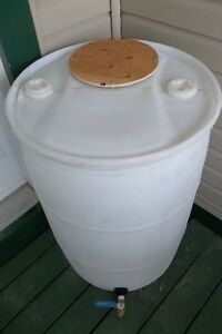 Plastic 55 gal. -K- drum/barrel for maple syrup, liquid